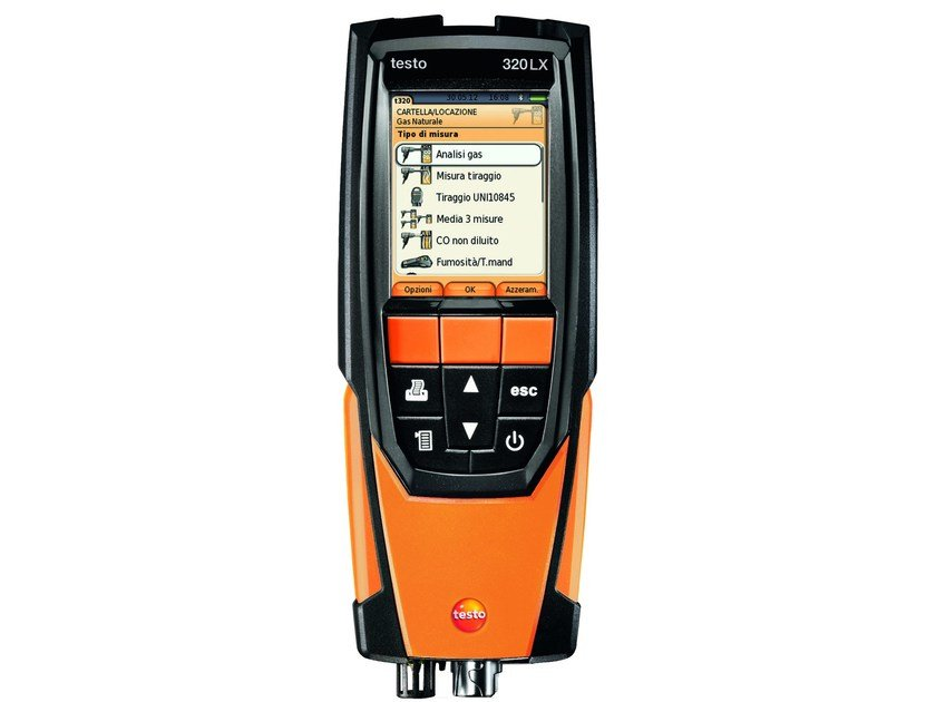 Measurement, control, thermographic and infrared instruments TESTO 320-1 LX by TESTO