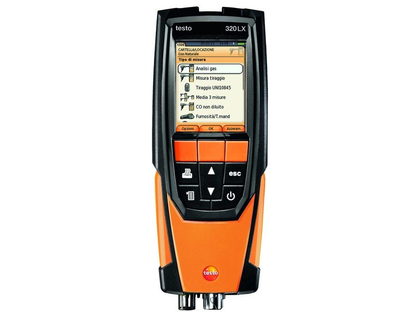 Measurement, control, thermographic and infrared instruments TESTO 320-2 LX by Testo