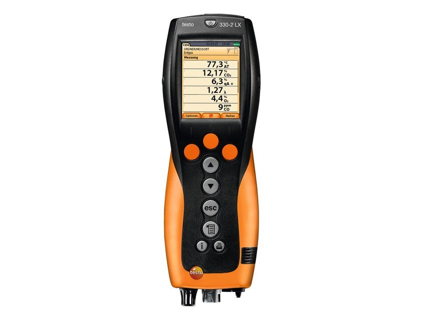 Measurement, control, thermographic and infrared instruments TESTO 330-2 LX NOx by TESTO