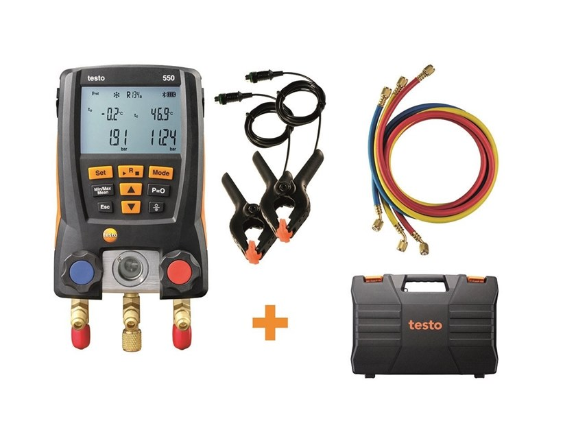 Measurement, control, thermographic and infrared instruments TESTO 550 kit Manifold by Testo