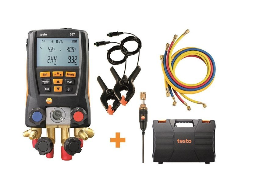 Measurement, control, thermographic and infrared instruments TESTO 557 kit Manifold by Testo