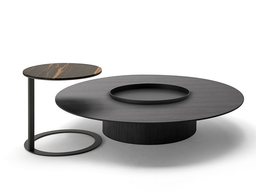 Round Side Table Tethys By Living Divani