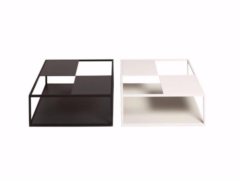 Tavolo De Padova Quadrato.Square Mdf Coffee Table Tetris By De Padova Design Nendo