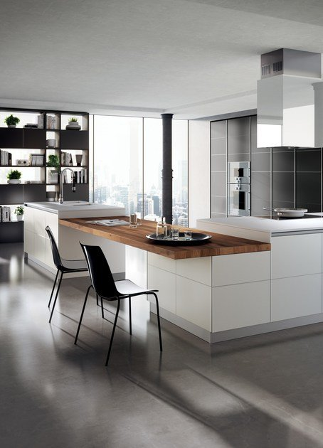 Fitted Kitchen TETRIX By Scavolini