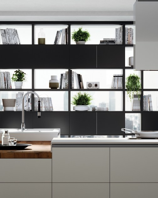 Cucina Tetrix Scavolini. By Gaining Space It Facilitates The And ...