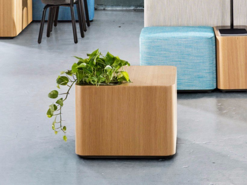 Modular square coffee table TETROMINO | Square coffee table by Derlot Editions