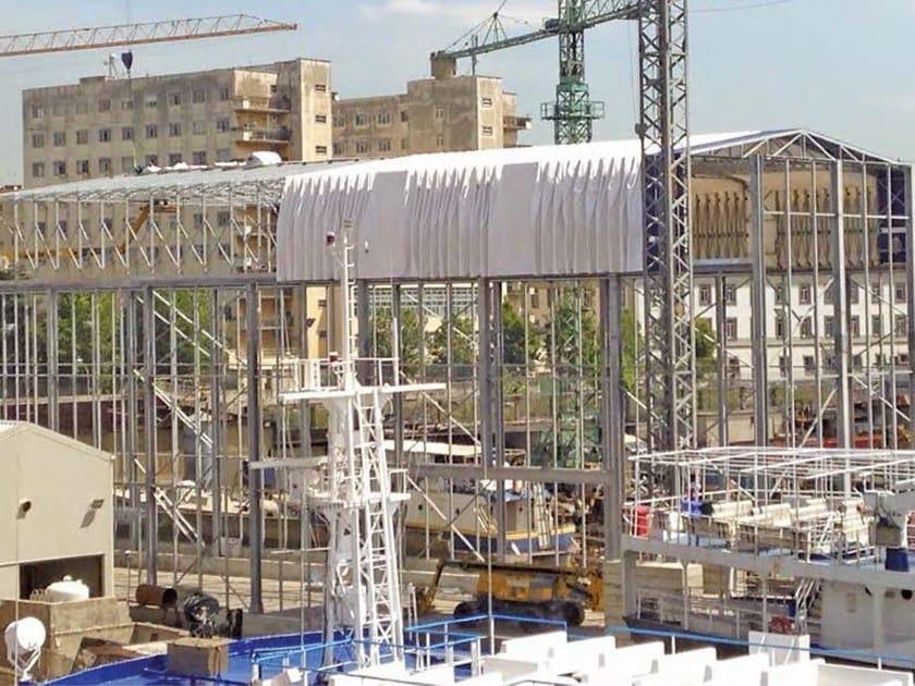 Sistema costruttivo in carpenteria metallica Tettoie mobili by Kopron®