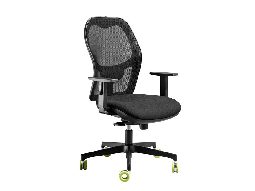 Fabric office chair with 5-Spoke base TEXAS | Office chair by AP Factor