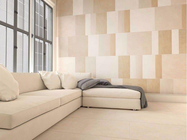 Ceramic granite wall/floor tiles with textile effect TEXTILE by ESTIMA CERAMICA