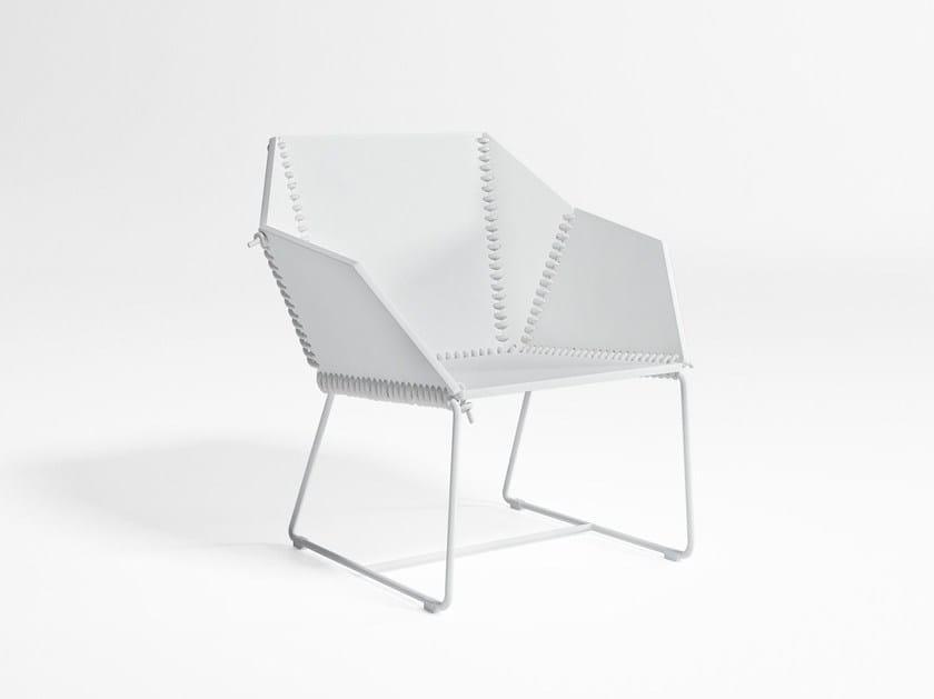 Polyethylene garden armchair TEXTILE | Garden armchair by GANDIA BLASCO