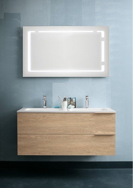 wall-mounted vanity unit thai composition 13 by rab arredobagno - Arredo Bagno Rab