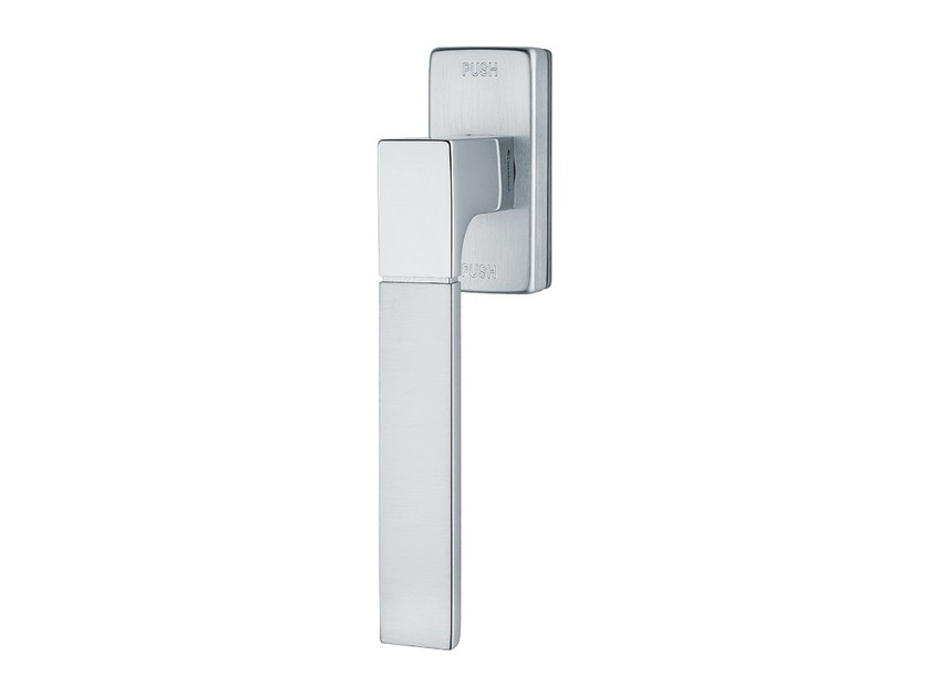 Contemporary style anti-intrusion DK brass window handle THAIS | Anti-intrusion window handle by LINEA CALI'
