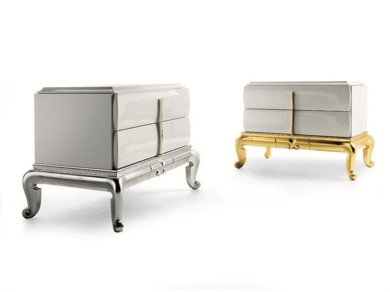 Bedside table with drawers THAIS | Bedside table by ELLEDUE ARREDAMENTI