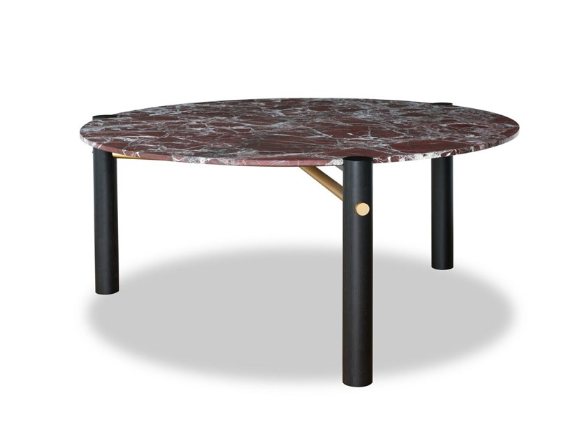 Round marble table THALATHA by BAXTER