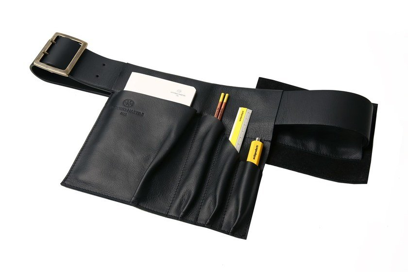 Leather business bag THE ARCHITECT BELT | Limited Edition by VITTORIO MARTINI