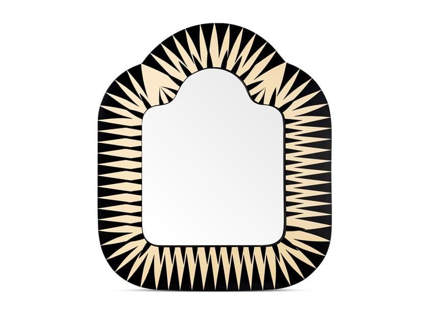 Espelho retangular moldurado de parede THE BIG PARADE by Scarlet Splendour