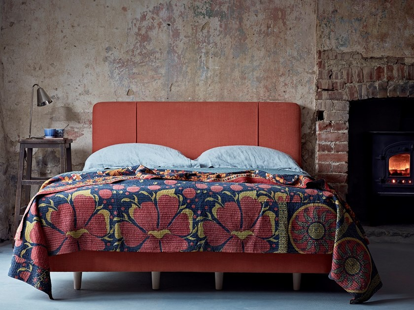 Upholstered fabric bed THE CARRICK | Bed by Naturalmat