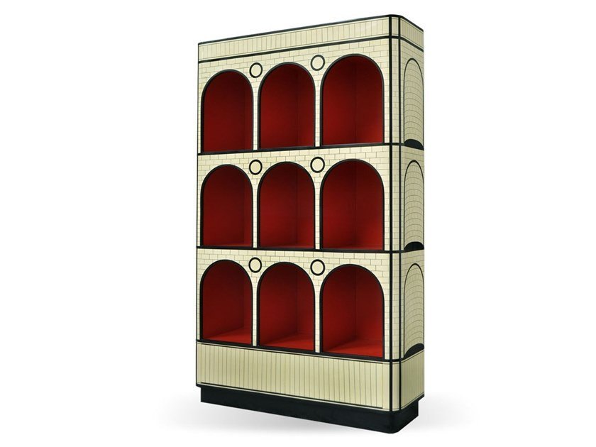 Open freestanding bookcase THE COUNT by Scarlet Splendour