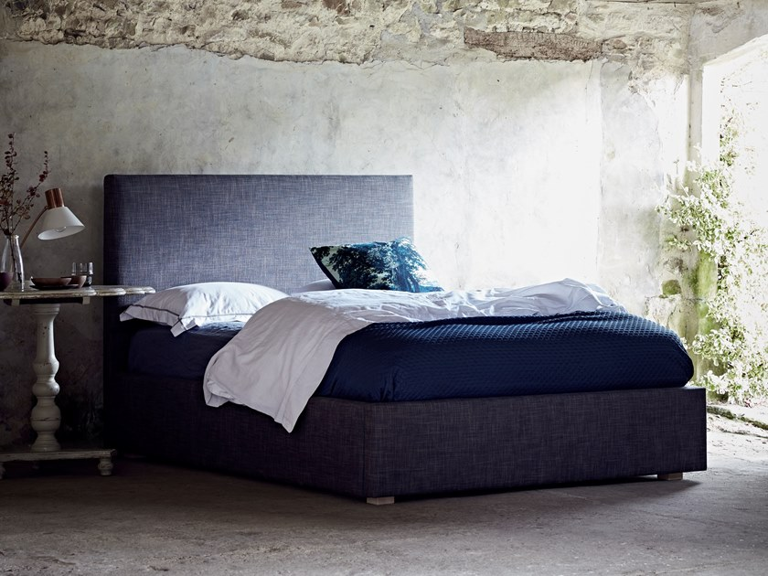 Upholstered fabric bed THE DARTMOUTH by Naturalmat