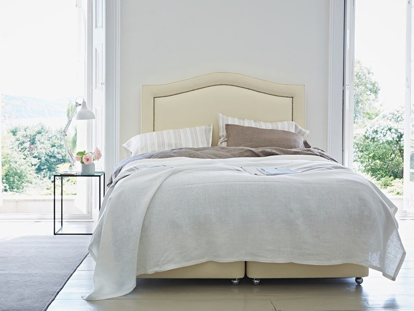Upholstered fabric bed THE DELRAY   Bed by Naturalmat
