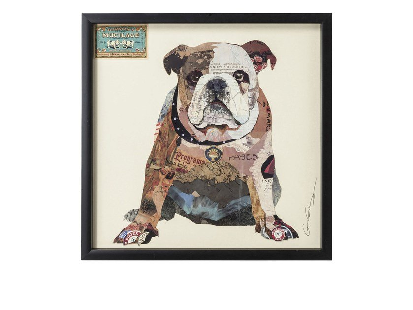 Decorative painting THE DOG by KARE-DESIGN