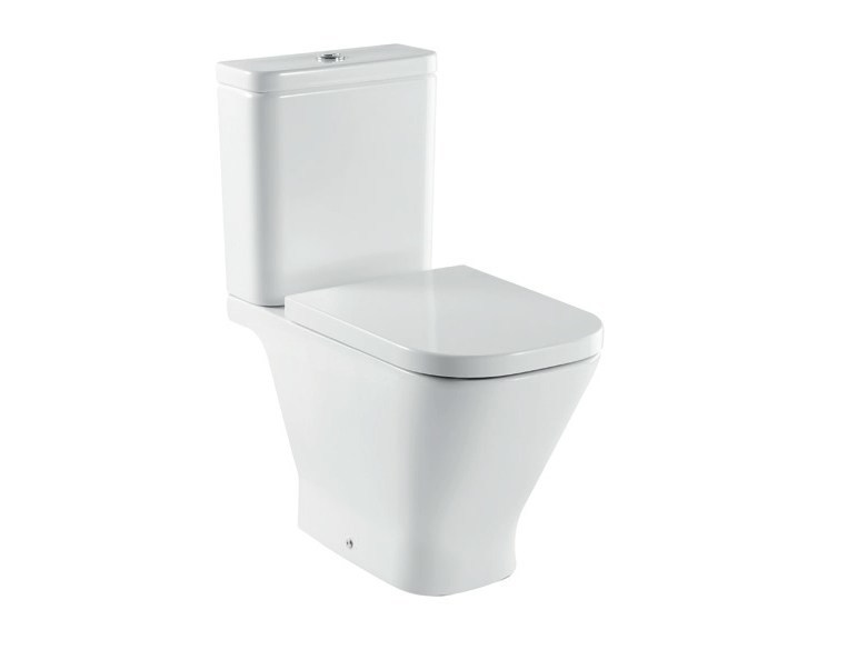 Close coupled ceramic toilet THE GAP | Close coupled toilet by ROCA SANITARIO