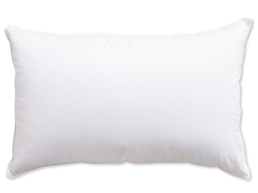Goose feather pillow GOOSE DOWN | Pillow by Naturalmat