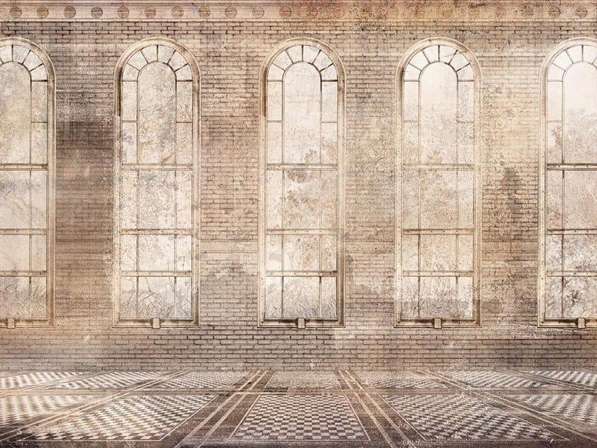 Papel de parede trompe l'oeil THE LABORATORY by Wallpepper Group