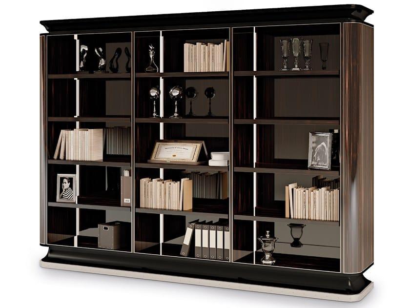 Libreria in ebano a giorno e a parete THE MAJESTIC | Libreria a giorno by Bellotti Ezio