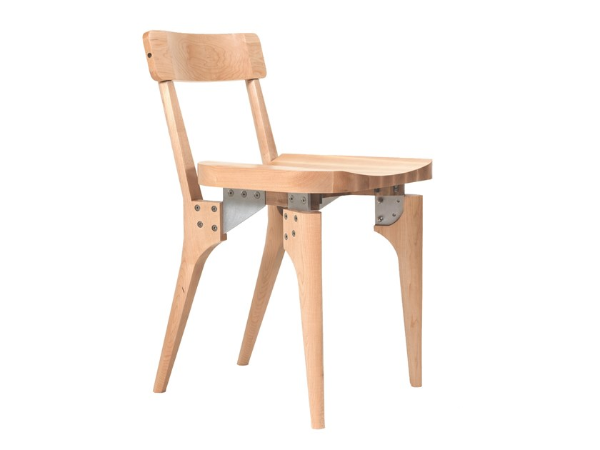Maple chair THE MAPLE BUTCHER BLOCK CHAIR by KHEM Studios
