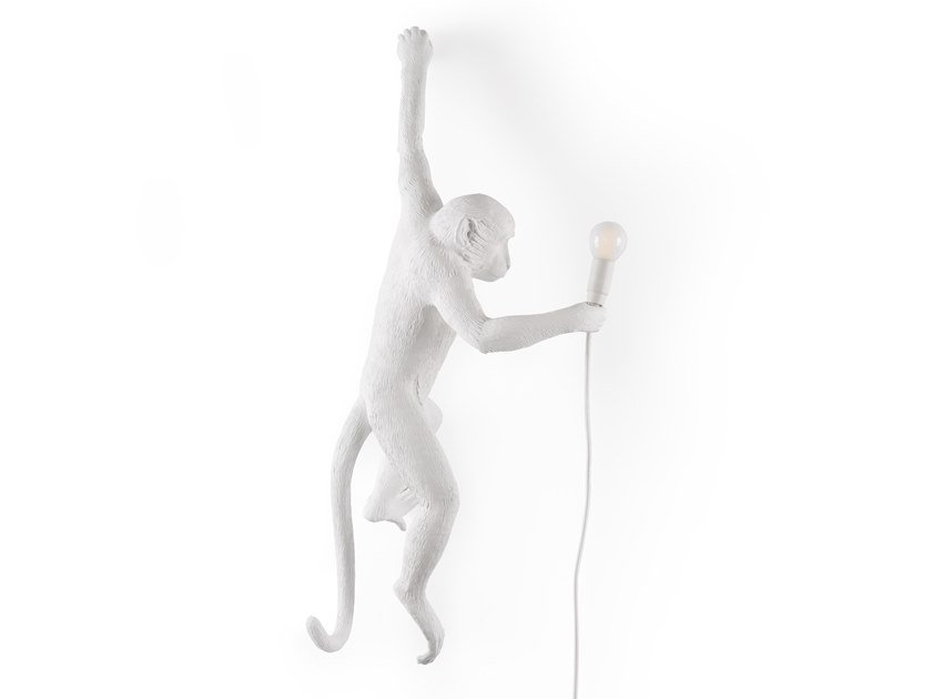 LED resin wall lamp THE MONKEY LAMP HANGING by Seletti