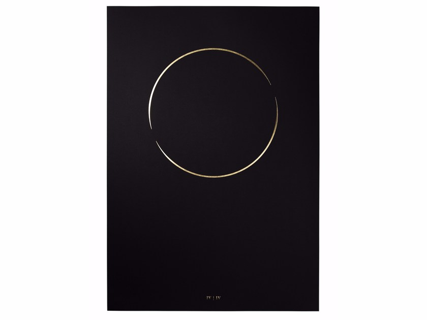 Art print hot gold foil stamping THE ONE RING by The Thin Gold Line