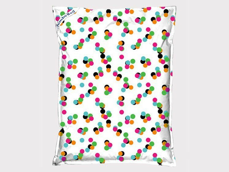 Polyester armchair / pouf THE ORIGINAL PRINTED by JUMBO BAG
