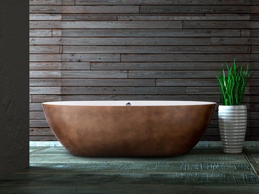 Freestanding oval bathtub THE ORIGINAL STONE ONE by AQUAdesign