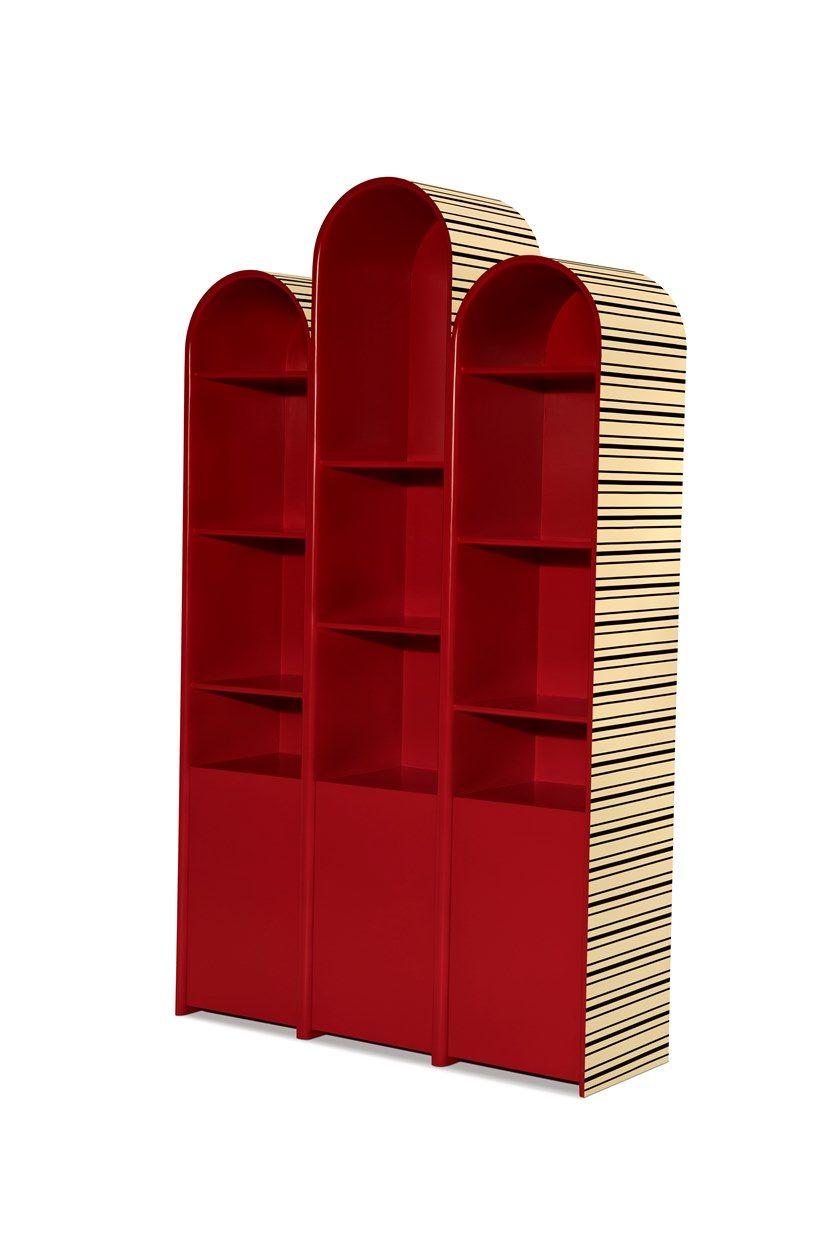 The Scarlet Componibile Libreria Autoportante Playhouse Splendour 354RAjqL