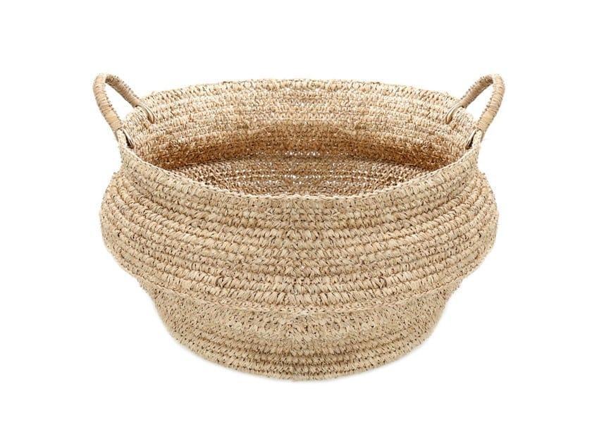Raffia basket JEMEH by Bazar Bizar