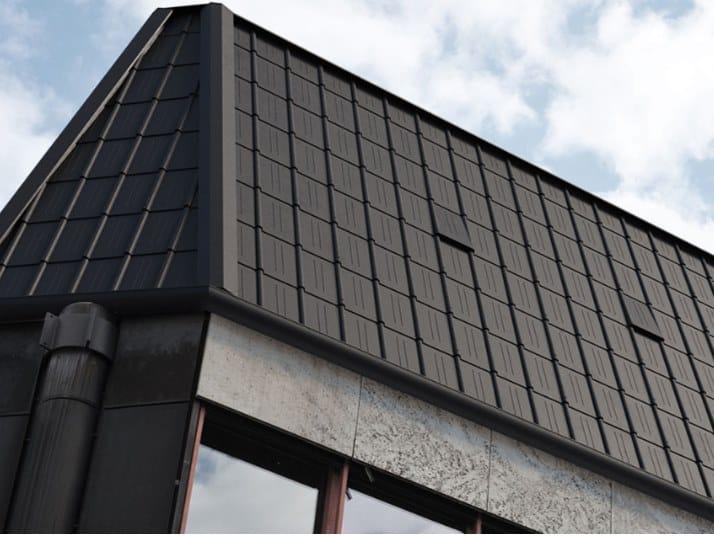 Rivestimento di copertura con elementi modulari THE SKIN TEGOLE TS.03 by Mazzonetto