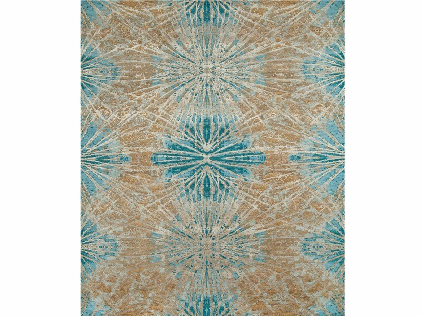 Tappeto fatto a mano THEA ESK-400 Mink/Light Turquoise by Jaipur Rugs