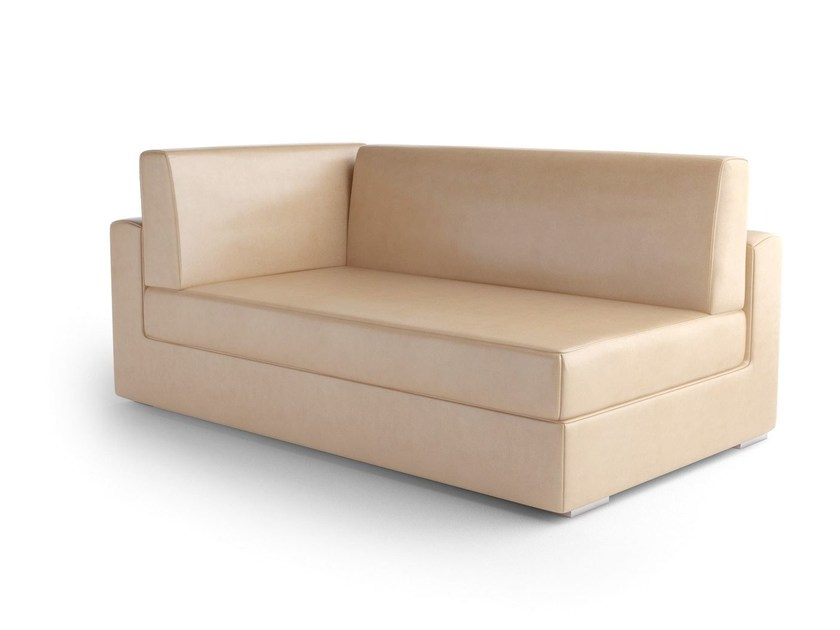 Leather day bed THECA | Day bed by Caroti