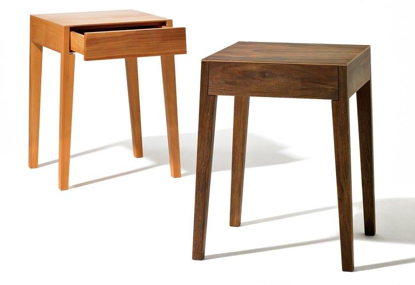 Sixay Furniture Legno Rettangolare Con In TheoComodino Cassetti bf6yg7Yv