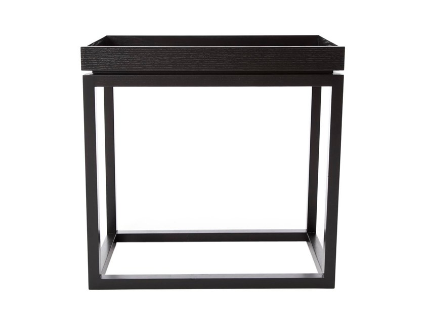 Rectangular side table with tray THEO by NORR11