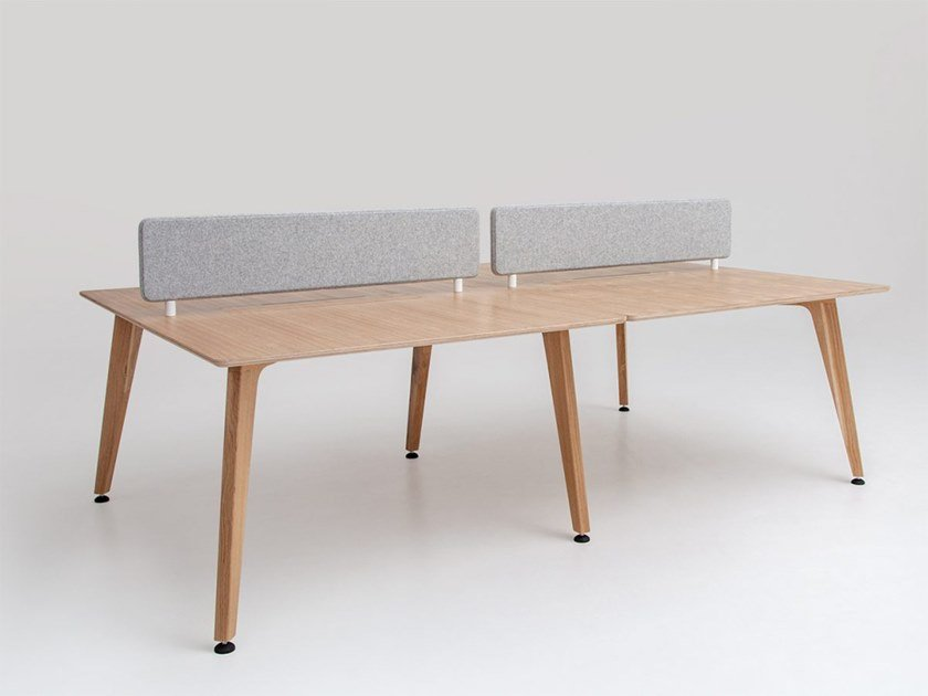 Bench desk system THEODORE by Liqui Contracts