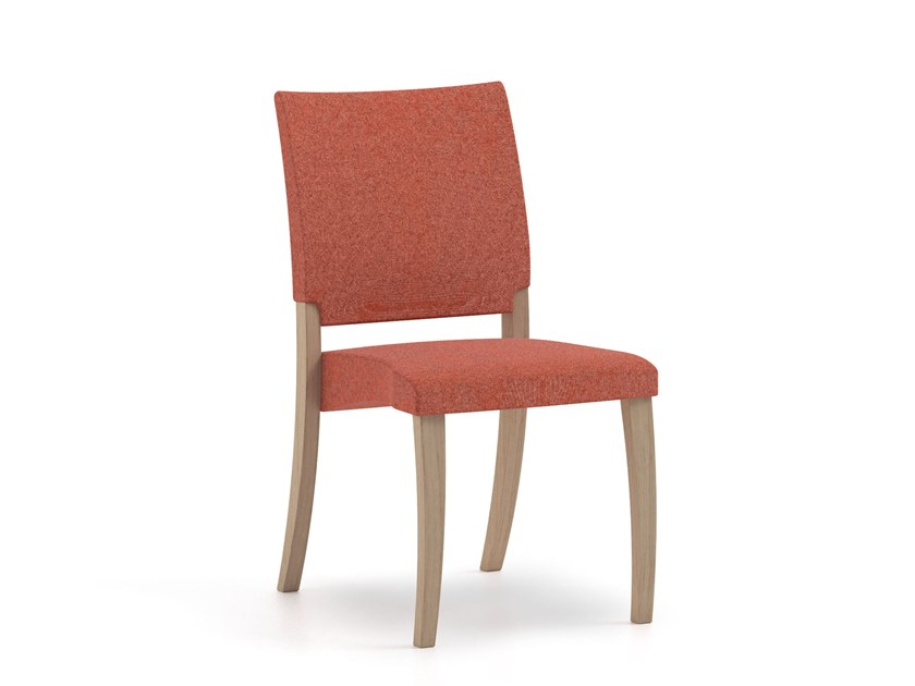 Stackable fabric chair THEOREMA | HEALTH & CARE | Fabric chair by PIAVAL