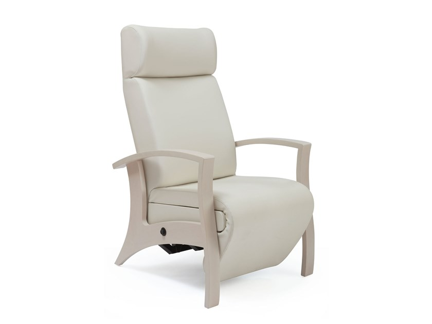 Recliner armchair with footrest THEOREMA | HEALTH & CARE | Recliner armchair by PIAVAL