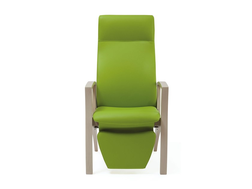 Recliner fabric armchair with armrests THEOREMA | HEALTH & CARE | Recliner armchair by PIAVAL