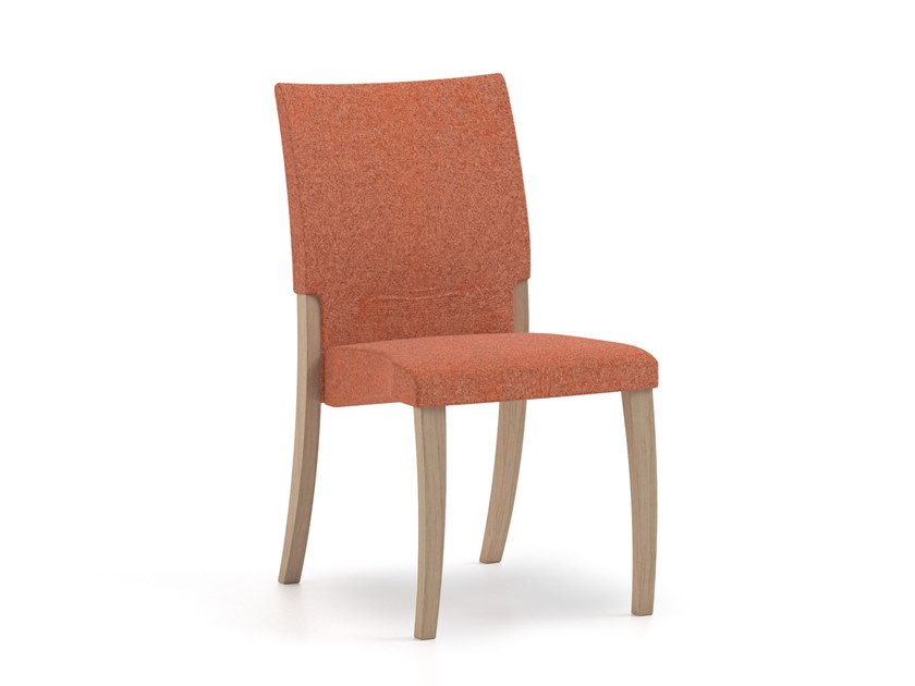 Stackable fabric chair THEOREMA | HEALTH & CARE | Stackable chair by PIAVAL