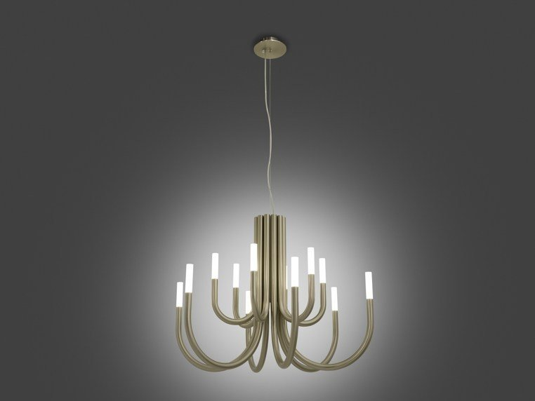 LED chandelier THEPALM by ALMA LIGHT