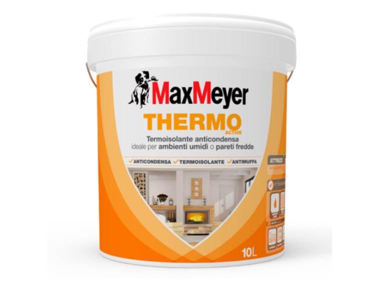 Breathable water-based paint THERMO ACTIVE by MaxMeyer