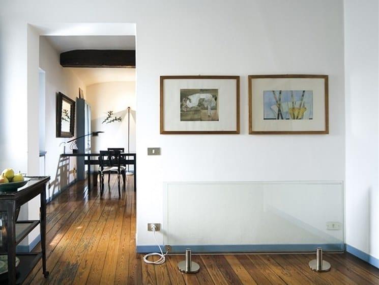 Floor-standing infrared radiator THERMOGLANCE ® 600X1500 | Floor-standing decorative radiator by Thermoglance®