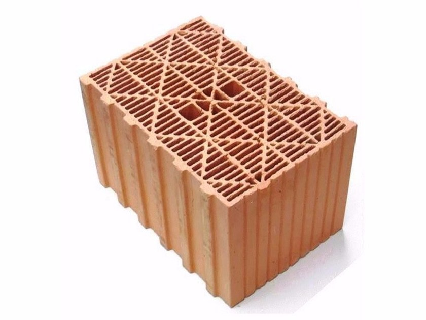 Building clay block THERMOPLAN® TS13 by DECORUS